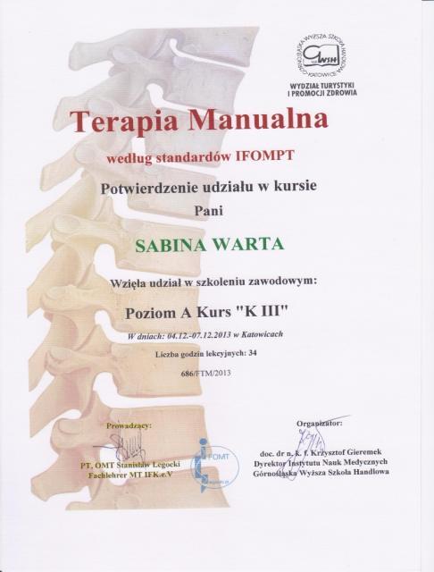 Sabina-certyfikat2