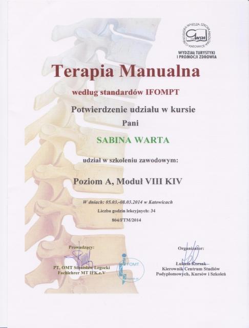 Sabina-certyfikat3