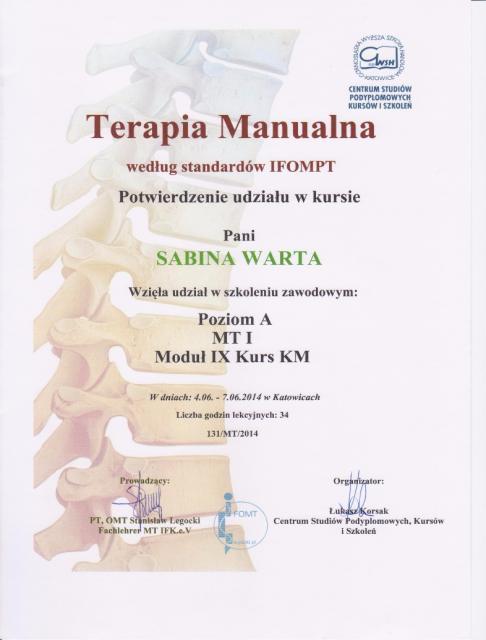 Sabina-certyfikat4
